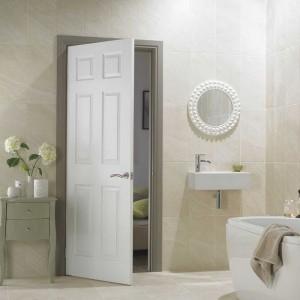 HDF Moulded Door /Hollow Interior Door with Wood Texture for Room Door /Bathroom door
