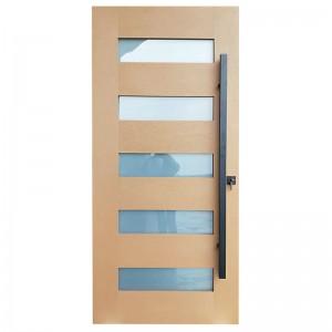 Hot selling Fiberglass Entry Door  to US / Canada Market KDF05G