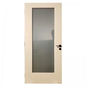 Wapterproof Fiberglass Door with One Glass Panel KDF01G