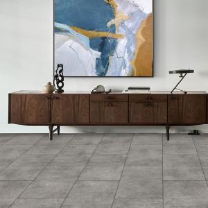 Bottom price Morning Star Bamboo - Stone color interlock plastic floor of LVT flooring – Kangton