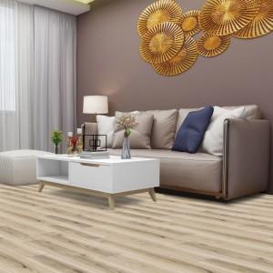 SPC flooring with IXPE / EVA padding