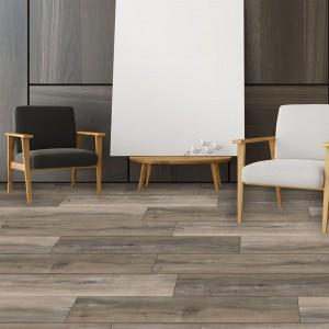 Anti UV SPC Plank Flooring Rigid Lvt with compe...
