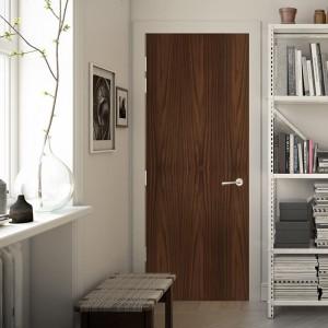 America Black Walnut Solid Wooden door