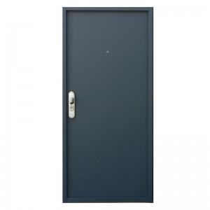 Dark Grey Simple Color Swing with Jamb Steel /Metal Door KTSS-0001