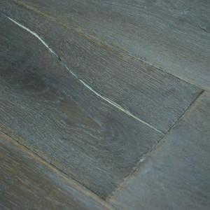 Dark oak wood veneer engineered wood timber flooring