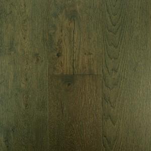New Flooring Trend Real Oak Wood Veneer on SPC Flooring