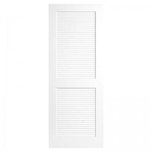 luxury modern solid composite doors modern interior white solid wood door portes en bois door Louver Door KDL102