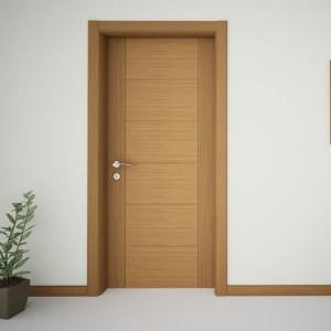 CE certificated Inside bedroom door laminate mdf design for bedroom Melamine Laminate Door KDM52