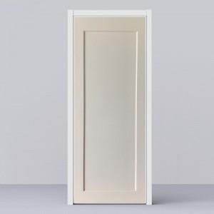 Shaker Style One Panel HDF Moulded Door KT12SS Door to Canada / USA
