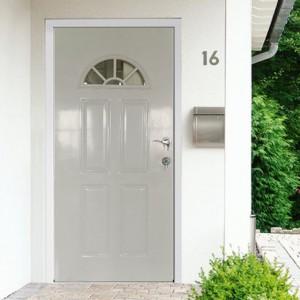 Steel door with wooden jamb interior door KT3-G