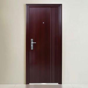 FLush Style with Lines Steel /Metal Door KTSS1008