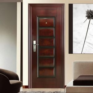 Hot Transfer 6 Panel Steel /Metal Door KTSS7004