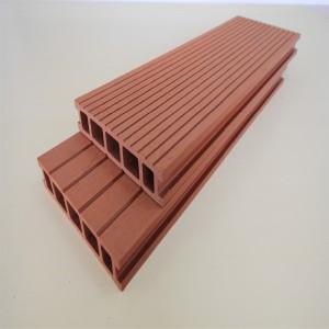 Anti-UV Extruded Wood Plastic Composite Outdoor...