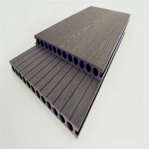 Anti-slip wood plastic composite wpc decking fl...