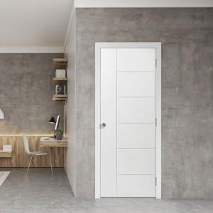 Moulded Door Flush design with groove line KT51