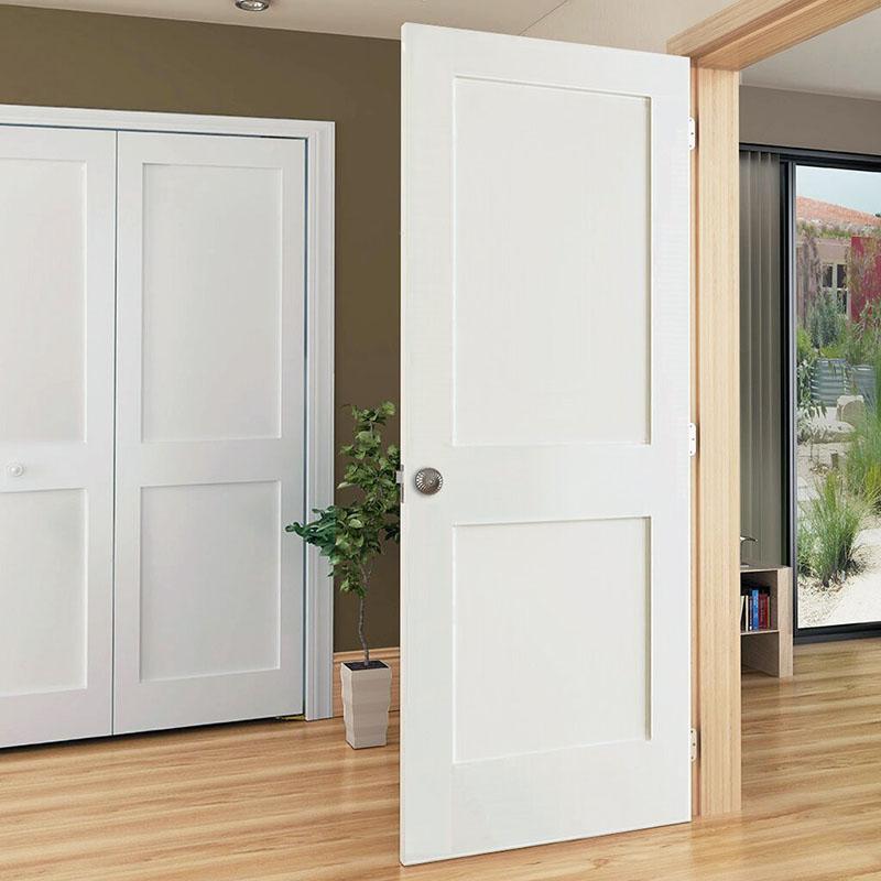 Paneled+Solid+Wood+Primed+Shaker+Standard+Door