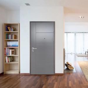 Prehung Wooden Door with PU Lacquer Finishing meet European Standard