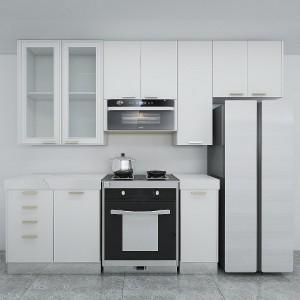 Luxury White Lacquer Kitchen Cabinet for Villa
